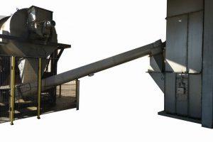 Redler type chain conveyors and screw conveyors