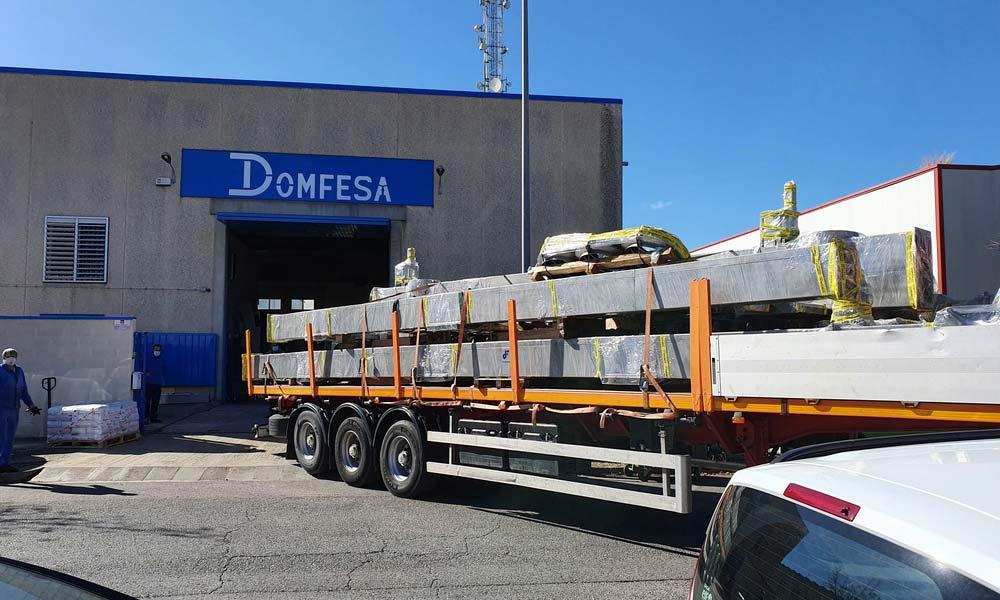 transportadores de silos salida fábrica