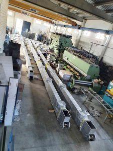 Transportadores cargas de silos